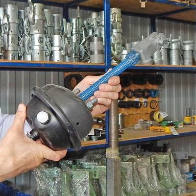 Баллон для натяжки ремня привода бункера Rety, PM, BR. - фото 4639