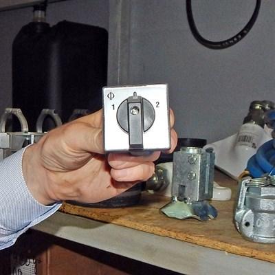 Переключатель фаз штукатурной станции - фото 4706