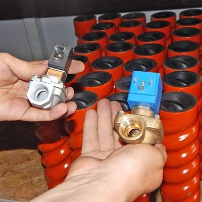 Клапан электромагнитный штукатурной станции - фото 4721