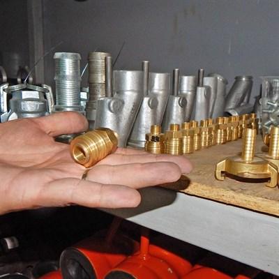 Муфта с наружной резьбой компрессора - фото 4858