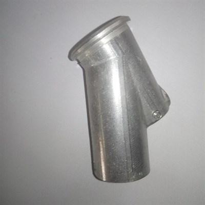Наконечник пистолета распылителя алюминиевый с трубкой 35мм, 30гр - фото 5253