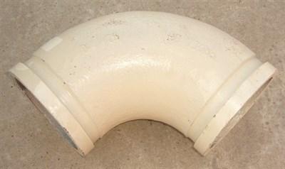 Угол бетоновода DN125*R180*90 - фото 5272