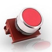 Кнопка красная с подсветкой М22 4А - фото 5382