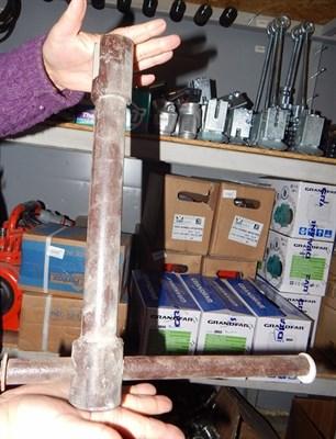 Ключ для шнека насоса - фото 5388