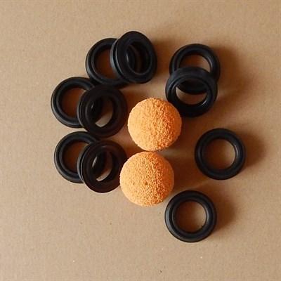 Комплект GEKA уплотнений с промывочными шарами для штукатурной станции - фото 5441