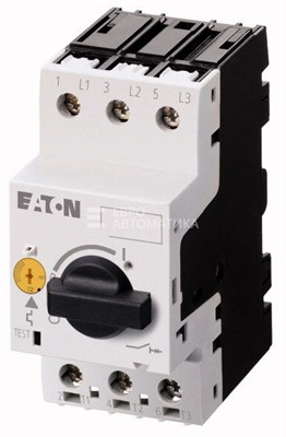 Переключатель защиты электродвигателя 1,6-2,5А PKZM 0-2,5 - фото 5659