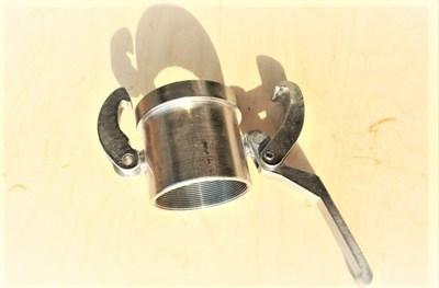 Соединение внешнее 65 мм быстроразъемное с резьбой (мама) для гасителя - фото 5753