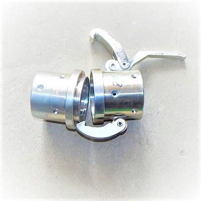 Соединение внешнее 65 мм быстроразъемное (комплект мама-папа) без уплотнения - фото 5781