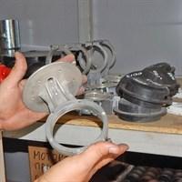 Поршень компрессора штукатурной станции