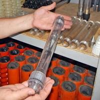 Расходомер водяной  100-1500 л/час в сборе